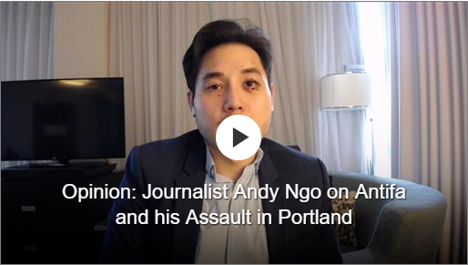 Wall Street Journal: A Leftist Mob Attacked Me in Portland