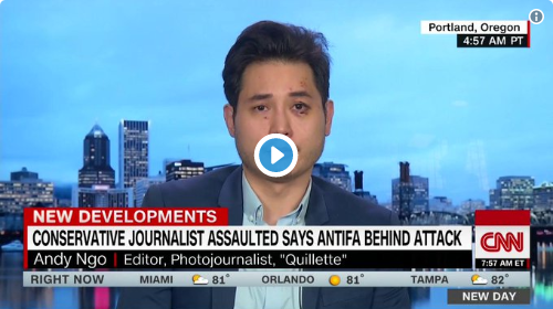 The Hill: Conservative journalist Andy Ngo demands Portland officials take action against Antifa