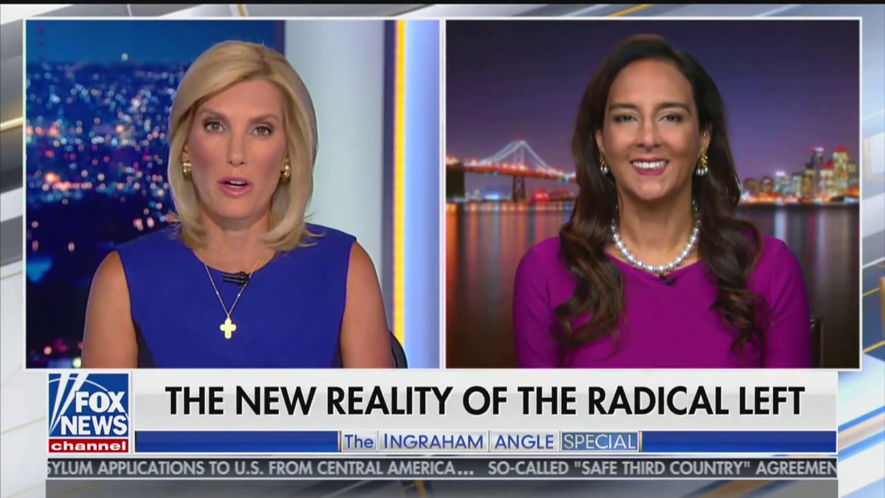 Harmeet Dhillon Appears on 'FNC's 'The Ingraham Angle' To Discuss the Radical Left and Antifa