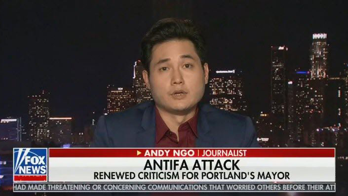 Demand Justice for Andy Ngo