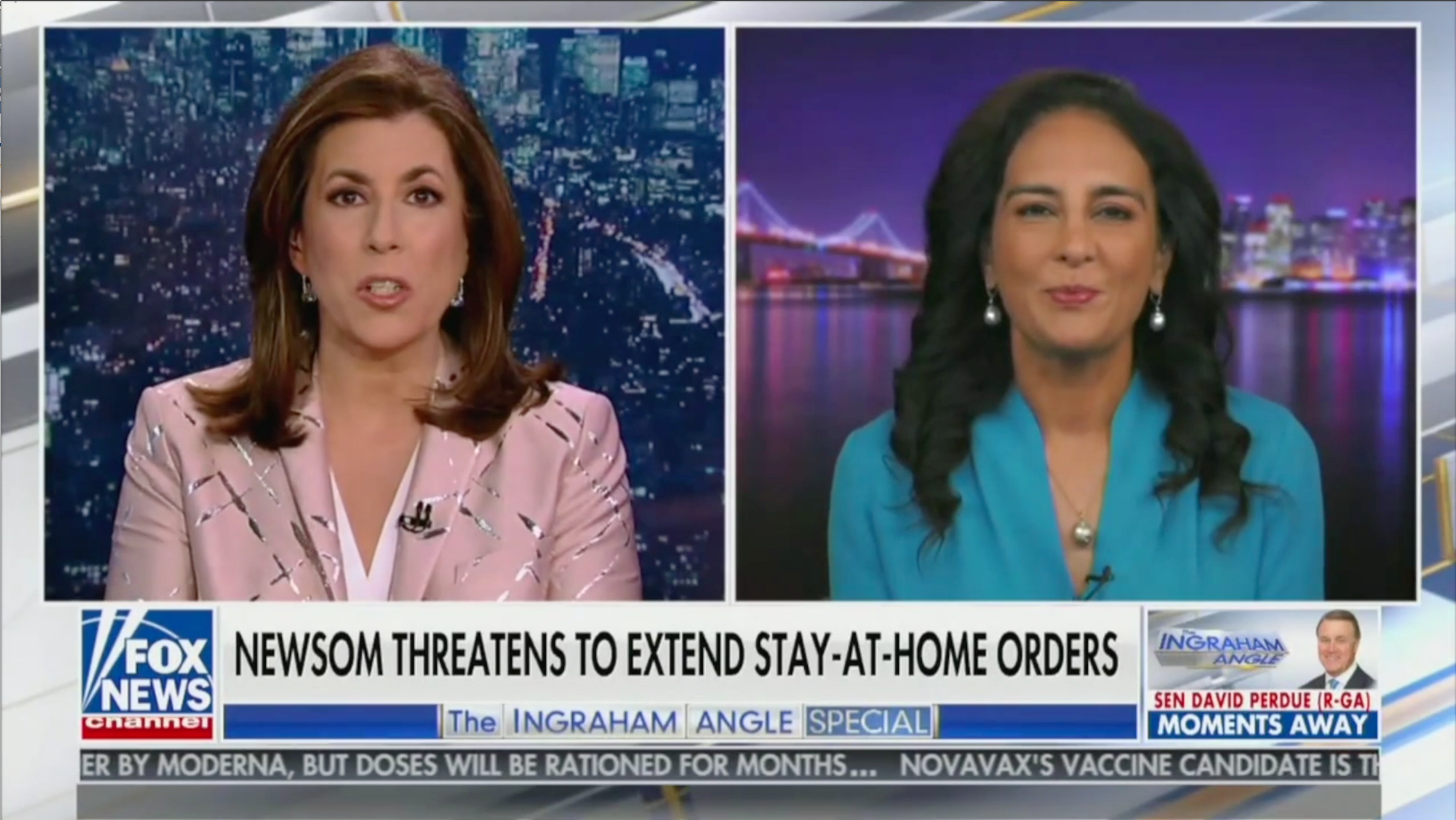 Harmeet Dhillon joins the Ingraham Angle to discuss lawsuits against Gov. Newsom's lockdown order
